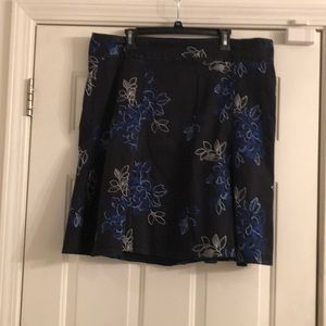 Lane Bryant flora skirt
